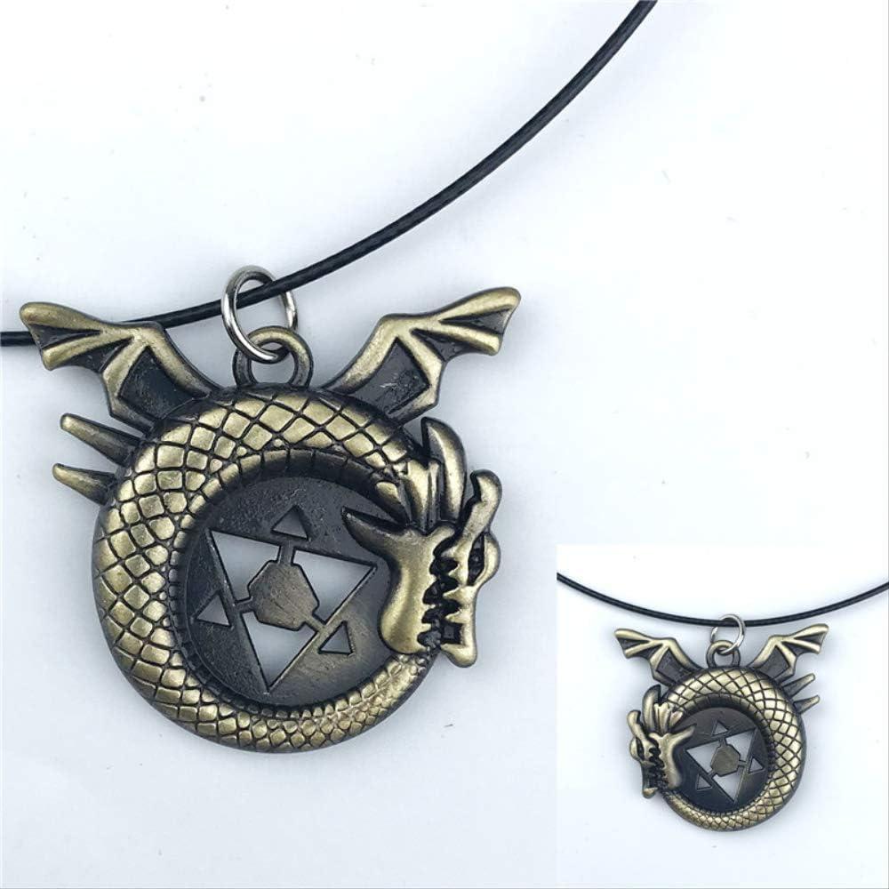 One Piece Trafalgar Law Logo necklace Unisex Chain Pendant Anime Gift Charm Gift