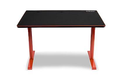 Arozzi leggero bureau pour gaming rouge 114 x 72 x 75 5 cm: amazon