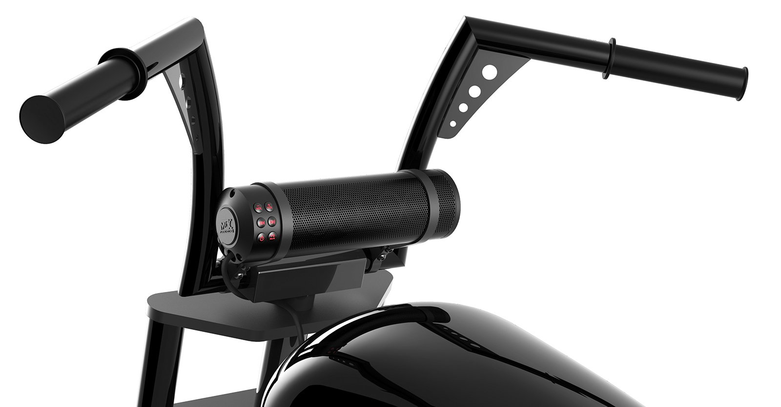 MTX MUDHSB-B Universal 6 Speaker All Weather Handlebar Sound System by MTX (Image #1)