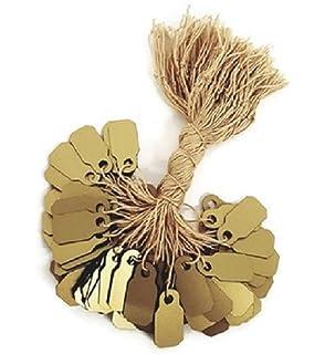 34cdbcc7e6cd Amazon.com: 888 Display USA 1000 Gold Plastic String Price Tags ...