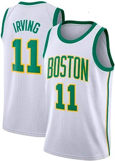 runvian Camiseta de Baloncesto para Hombre, NBA Boston ...