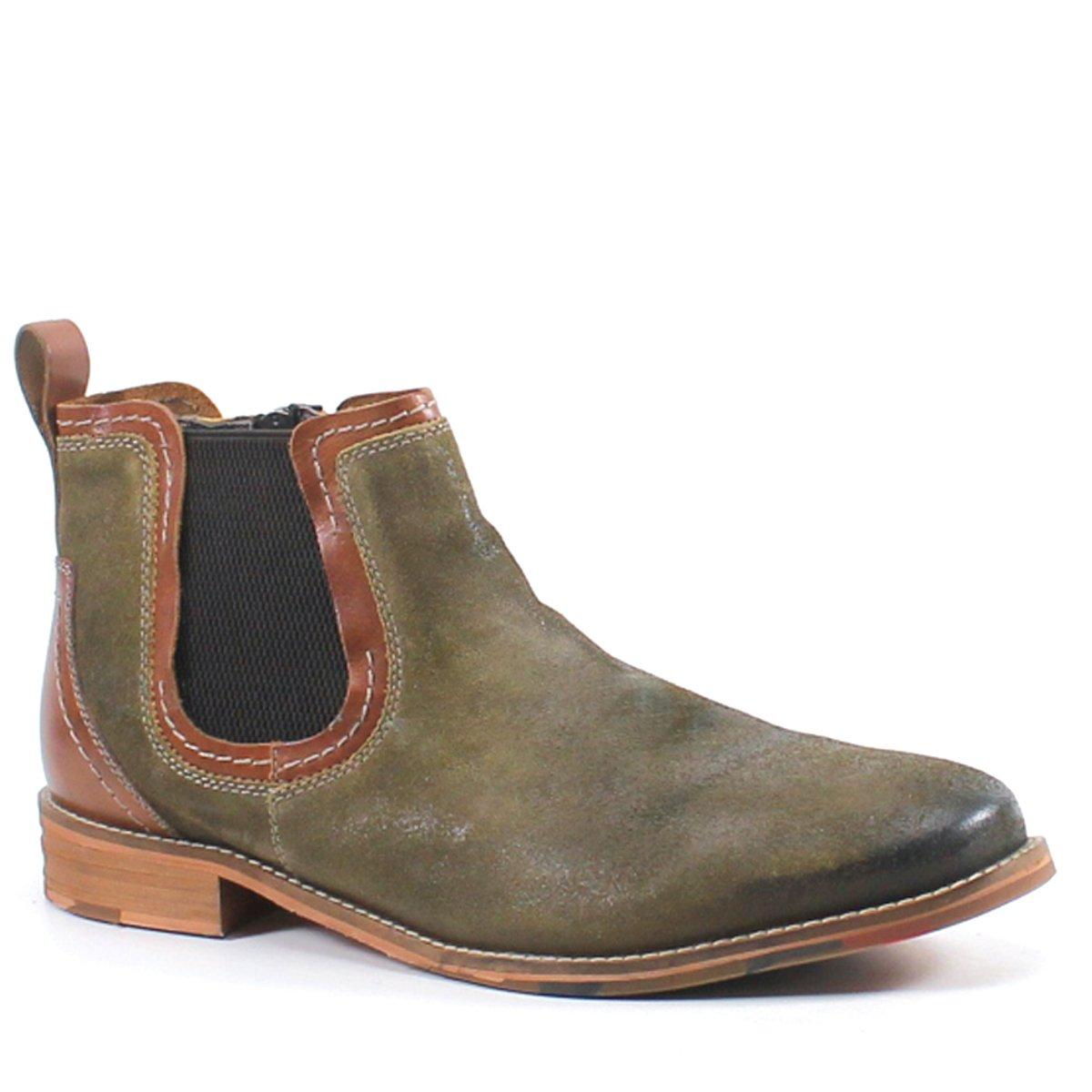 TESTOSTERONE Apple Jay Leather Boot (42, Tan)