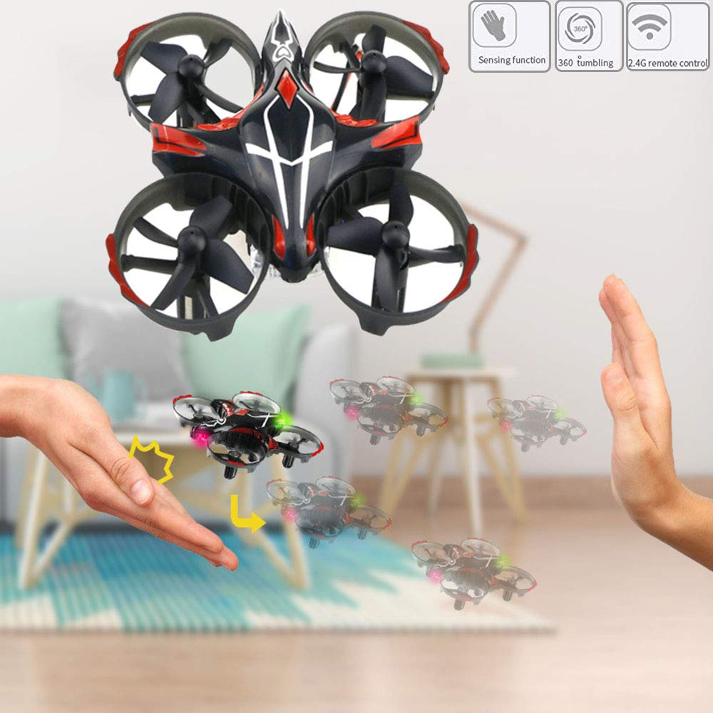 CELISUN Hands Sensors Drone, Mini Interactive Induction Drone,Lot of Fun Drone Gravity Ddefying Easy to Fly by CELISUN