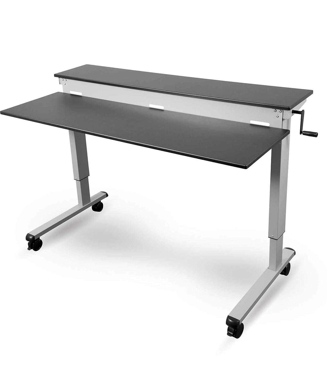 Altura ajustable escritorio – Dos de clases de: Amazon.es ...