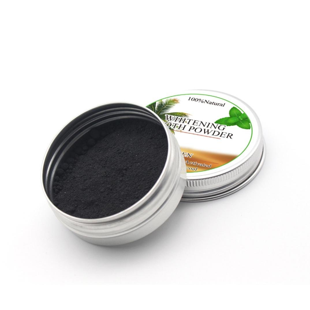 Wanshop® Teeth Whitening Powder Natural Organic Activated Charcoal Bamboo Toothpaste