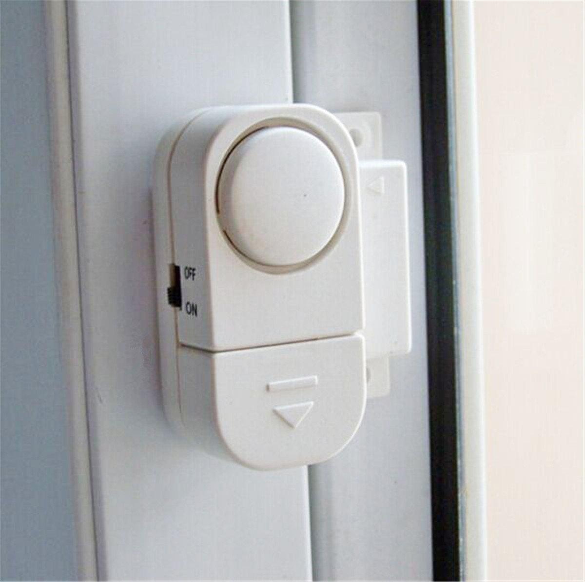 ... de seguridad Sensor magnético - Ventana Cristal vibración alarma antirrobo Seguridad para casas, coches, caravanas, caravanas, cobertizos - inalámbrica ...