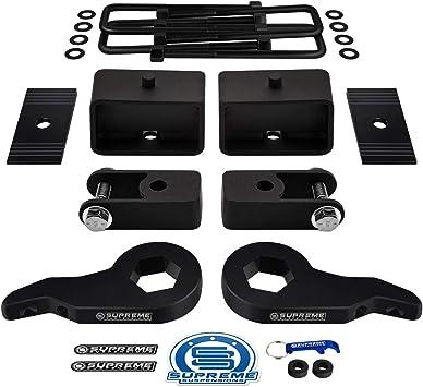 """2001-2010 1500HD 2500HD 3500HD 1/""""-3/"""" Adjustable Torsion keys Lift Kit 2/"""" Blocks"""