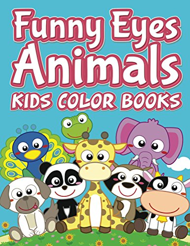 Funny Eyes Animals Color Coloring ebook