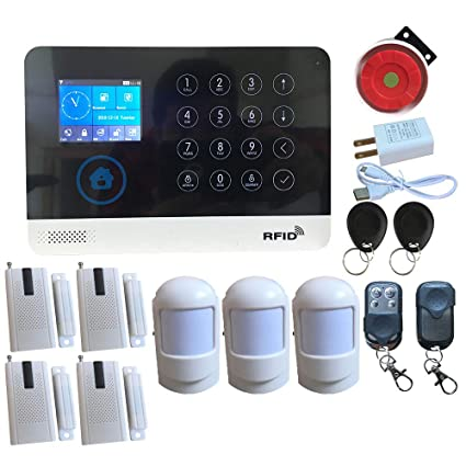 HuilingyiTech - Sistema de Alarma de Seguridad para el hogar ...