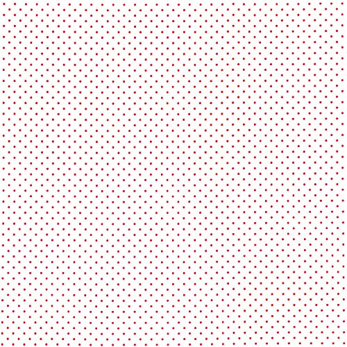 Riley Blake Swiss Dots Red on White Fabric - By the Yard