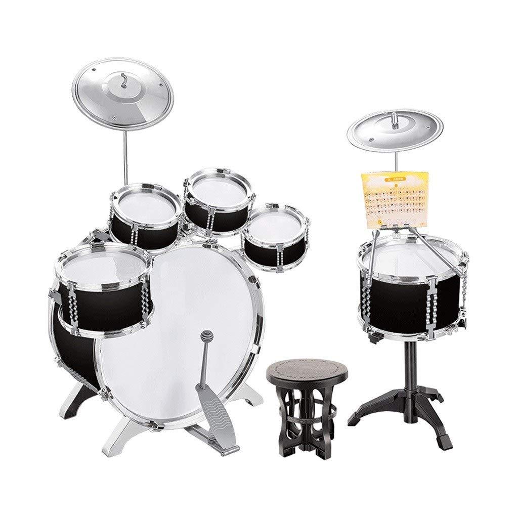 品質保証 SHLIN-ドラム 子供用ドラム初心者ビートドラム3-6歳楽器男の子女の子ジャズドラムドラムリズム練習 (色 (色 : ブラック) ブラック) B07R8DH7CT ブラック B07R8DH7CT, 水素水百貨店スイソプラス:8dda07b9 --- senas.4x4.lt