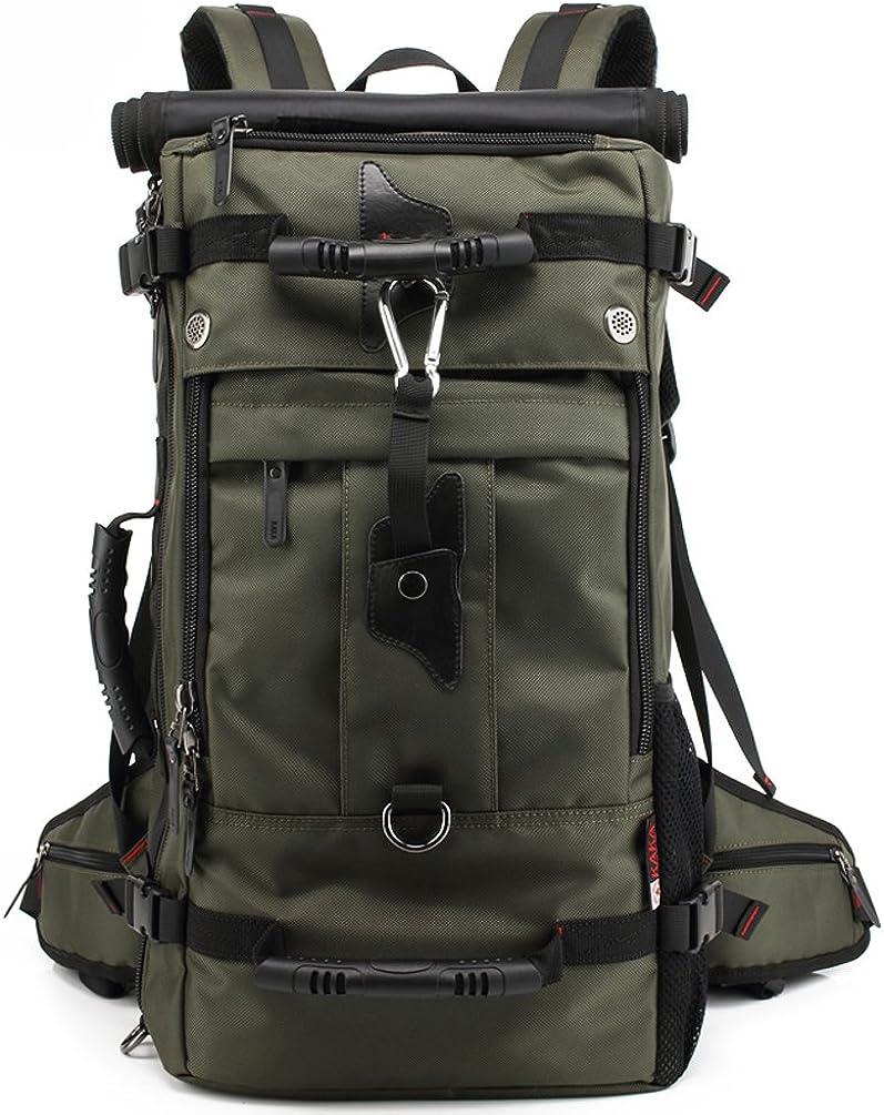 SUNWIN Large Travel Backpack Latop Bag Knapsack 40L Hiking Camping Bag Waterproof BackpackFor 17 Inch Laptop