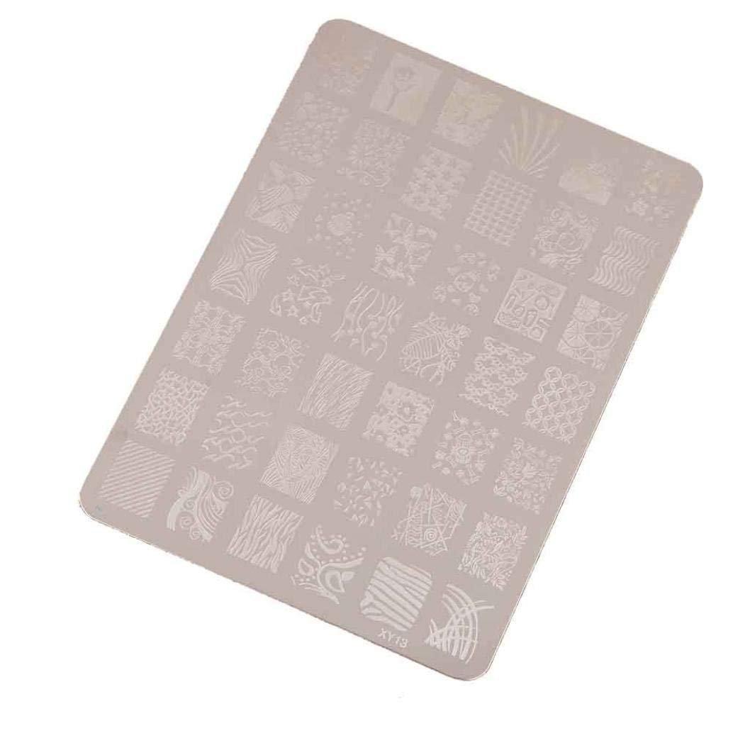 Tia-Ve Estamper Impression Manucure Nail Art Dco Image Timbres Pceque des Ongles