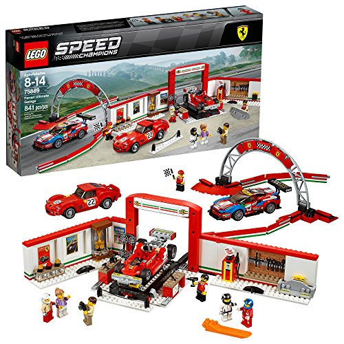 LEGO Speed Champions Ferrari Ultimate Garage 75889 Building Kit (841 Piece) ()
