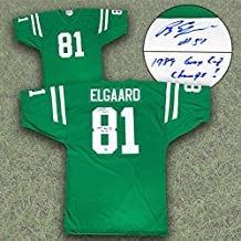 Ray Elgaard Saskatchewan Roughriders Autographed Custom CFL Football Jersey - Autographed NFL Jerseys