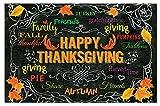 CounterArt Paper Placemat, Chalkboard Thanksgiving, 24 Pk