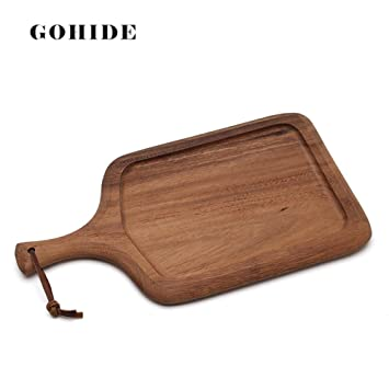 A Wood Cake Plate Wood Pizza Plate Baby Food Supplement Bread Board Mini Chopping Board Deli  sc 1 st  Amazon.com & Amazon.com | A Wood Cake Plate Wood Pizza Plate Baby Food Supplement ...