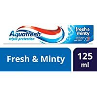 Aquafresh Adult Toothpaste Triple Protection Fresh and Minty, 125 ml
