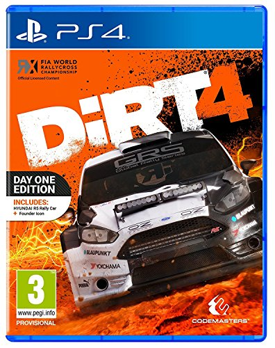 Dirt 4: Day One Edition (PS4) UK IMPORT REGION FREE