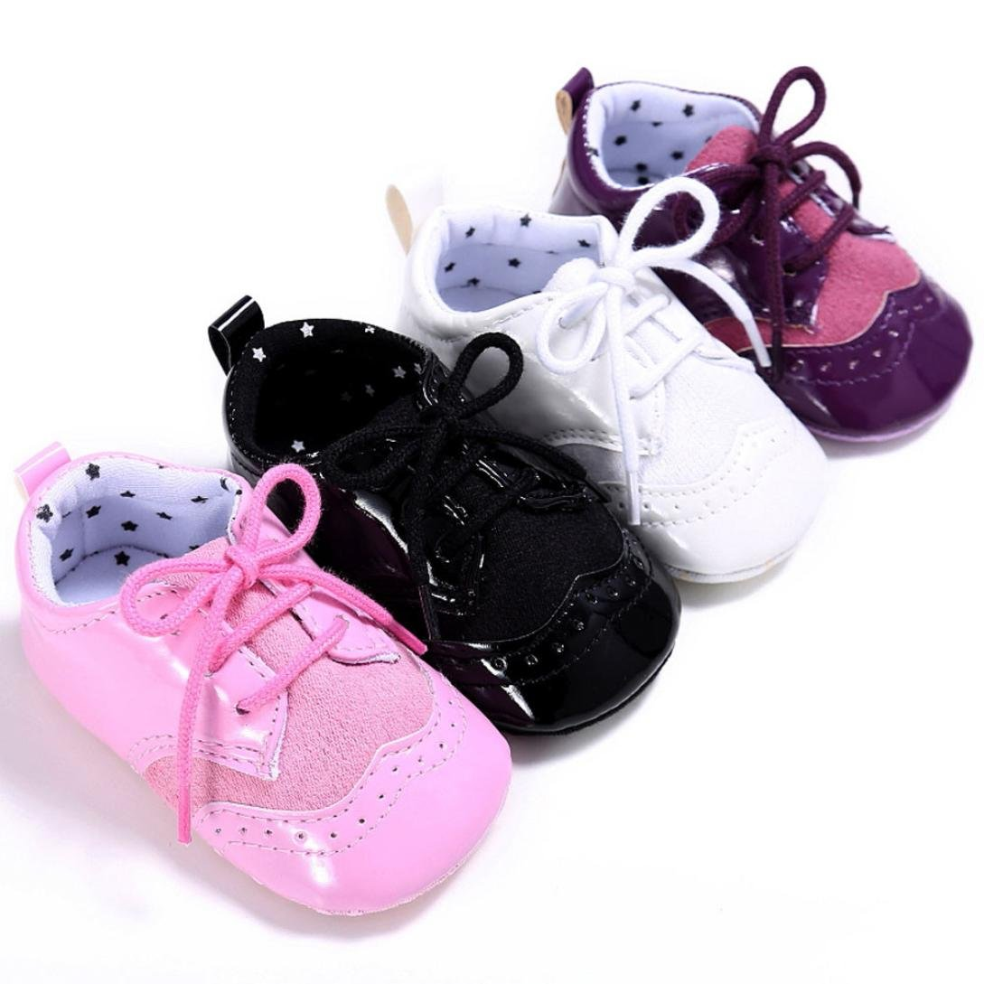 Womail Fashion Baby Infant Kids Girl Boys Soft Sole Crib Toddler Newborn Shoes