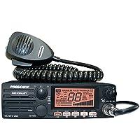 President Electronics MC KINLEY USA Hm AM/SSB Tranceiver CB Radio, 40 Channels,...