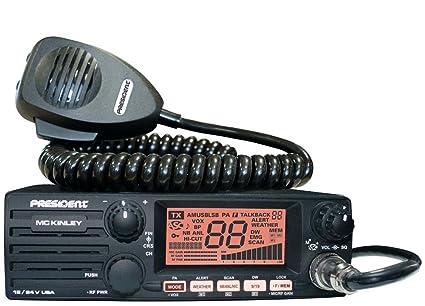 amazon com president mckinley usa 40 channel cb radio ssb 12 24v rh amazon com
