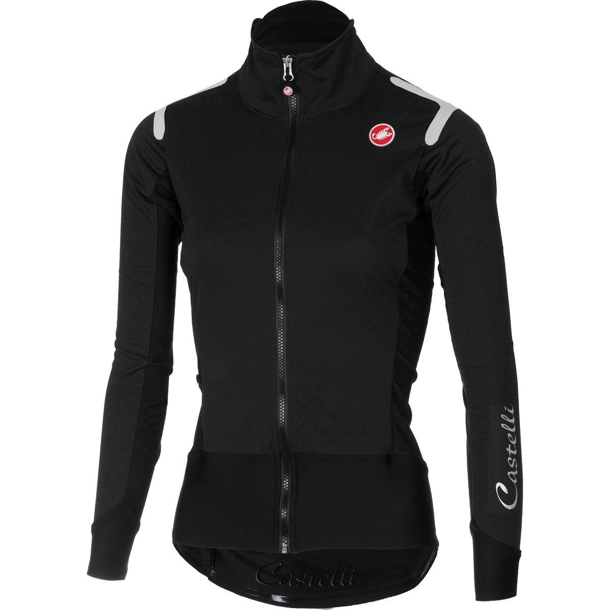 Castelli Alpha ROS Long-Sleeve Jersey - Women's Light Black/Black, XS