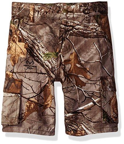 Carhartt Boys' Toddler Shorts, Realtree Xtra Camo, 2T
