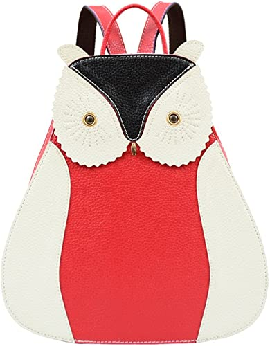 Mellow World Owlet Backpack 10 X 4 X 13 , Red, One Size