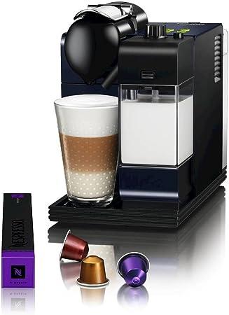 DeLonghi EN520BL - Cafetera monodosis, 19 bares, preparación automática de Capuccino, color azul: Amazon.es: Hogar