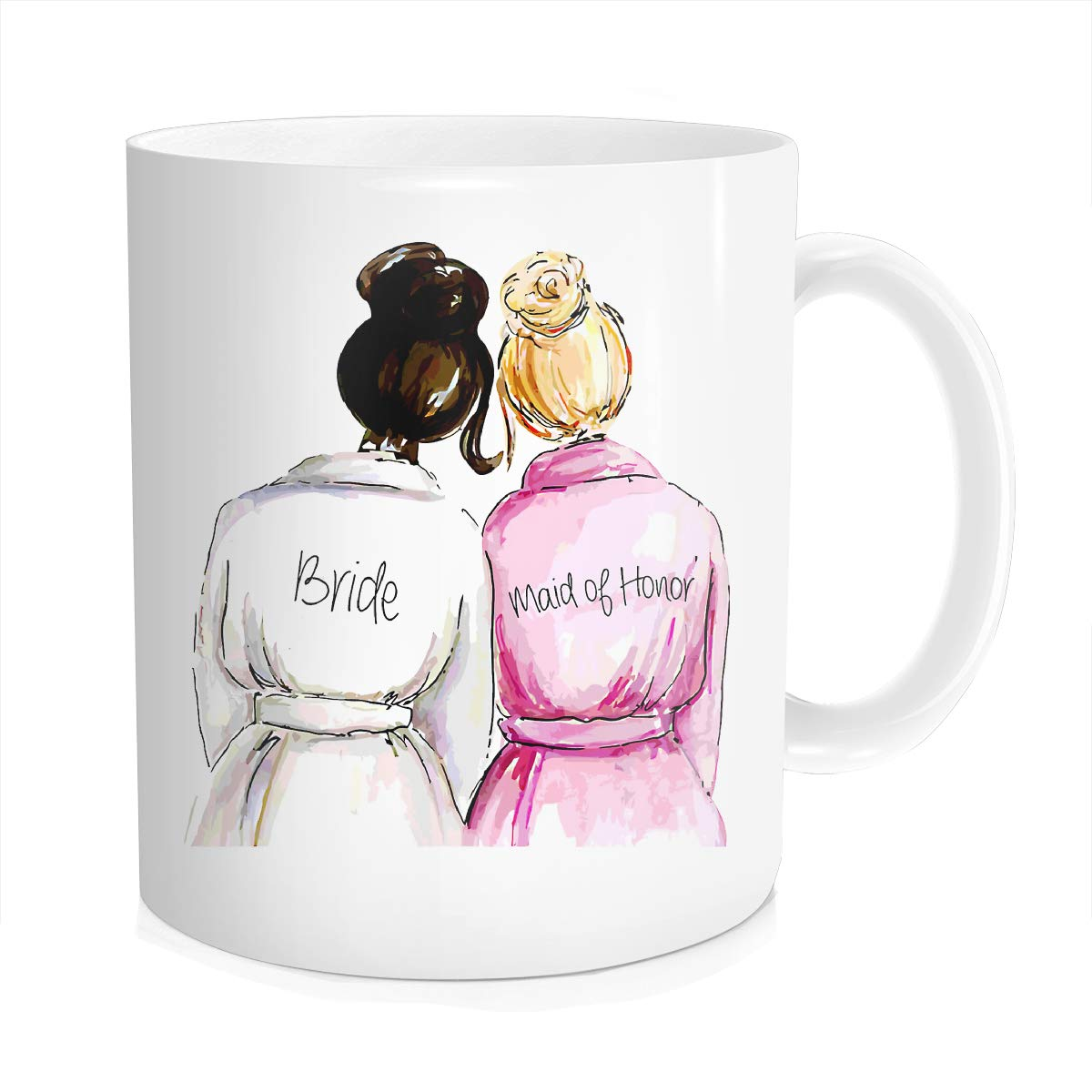 Bridesmaid Thermal Bride Bestie Bride Gift For Wedding Day From