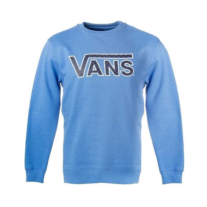 Sudadera Vans - Classic Crew Boys azul/negro talla: 152 a 164 cm altura - de 12 a 14 años: Amazon.es: Ropa y accesorios