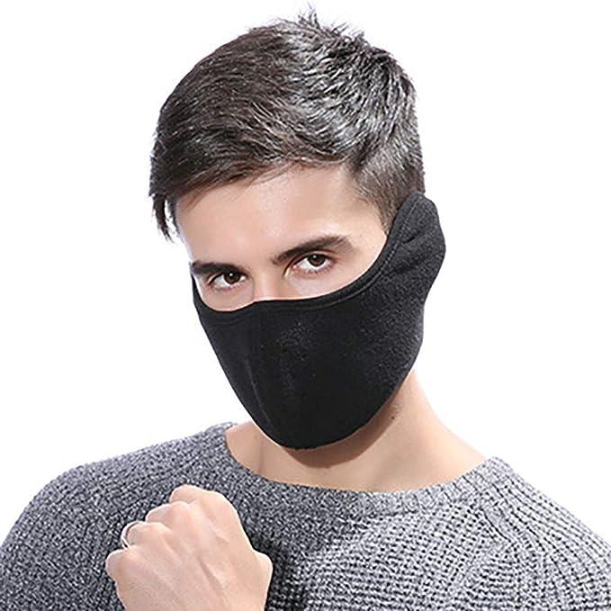 Amazon.com: ENCOCO - Máscara de boca cálida para invierno ...