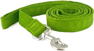 product image for The Good Dog Company Hemp Corduroy Leash - 6 ft (1/2 Inch Width Avocado)