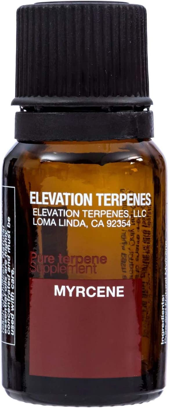 Elevation Terpenes 100% Myrcene Food Grade Terpene 10 Milliliters Produced in The USA (50ML)