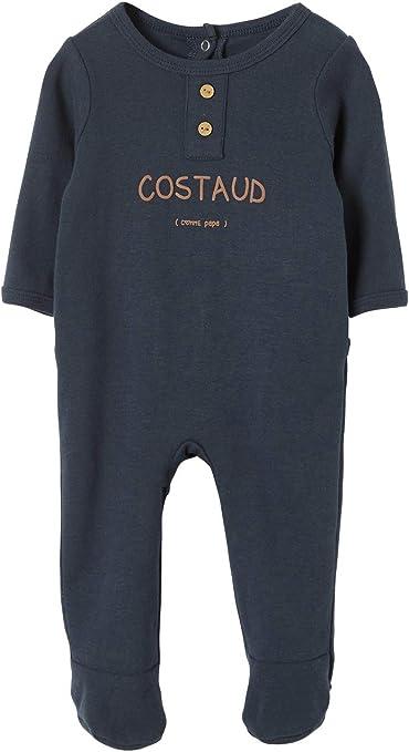 Vertbaudet Pijama para bebé niño de algodón, mensaje robusto como ...