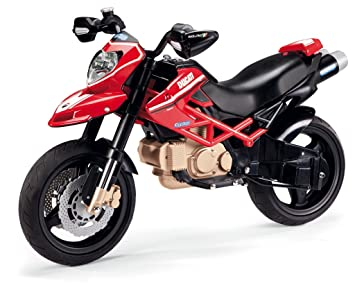 itsImagical Peg Perego MC0015 - Motos Ducati Hypermotard 1100 Evo, 12 Volt