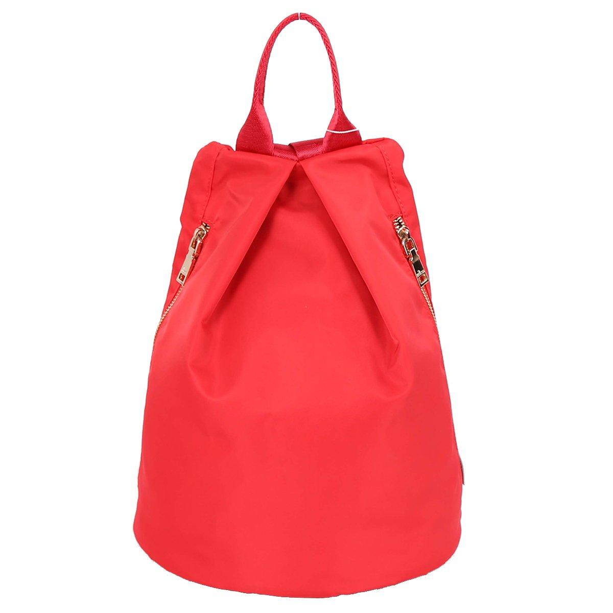 ZOCAI Nylon Fabric Unisex Barrel Backpack Handbags Puses Casual Day Backpack Clearance K15657