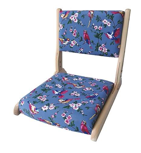 Amazon.com: denzihx Meditación Tatami piso silla, plegable ...