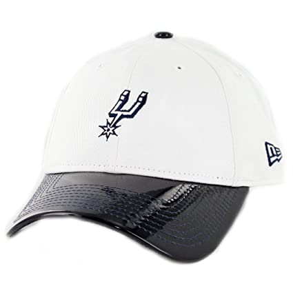 caf09491e1b1 Image Unavailable. Image not available for. Color: New Era 920 San Antonio  Spurs Retro Hook Strapback Hat ...