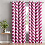 HLC.ME Chevron Print Thermal Insulated Blackout Curtains - Best Reviews Guide