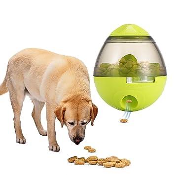 Perro forrajeador Perro de juguete Dispensador de bola de alimento para gatos Dispensador de tortas de