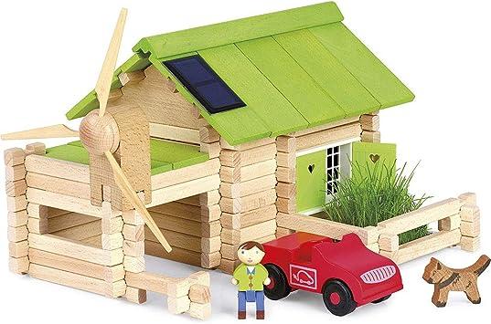 site professionnel San Francisco belle qualité JeuJura - 8071 - Jeu de Construction - Le Chalet Ecologique