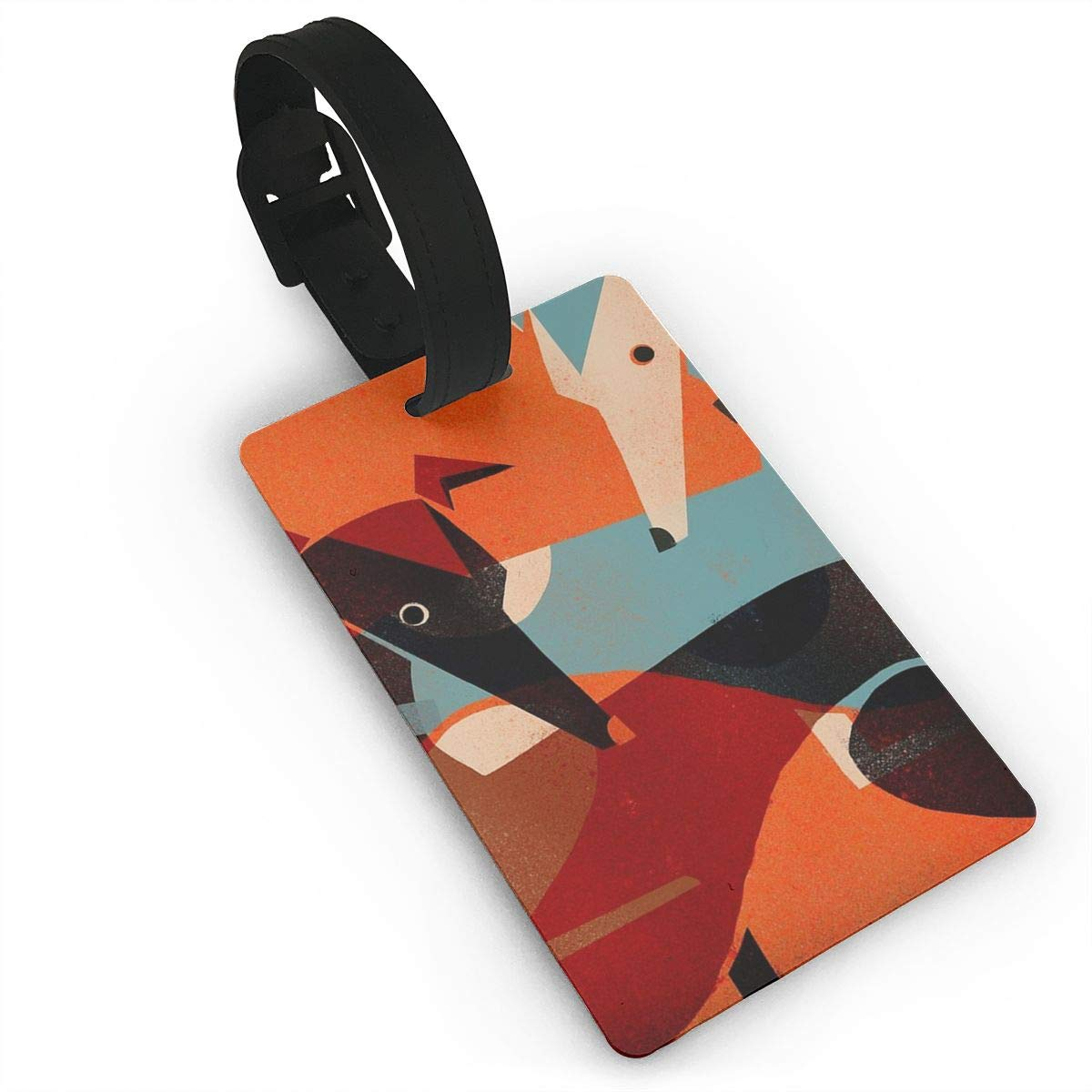 Luggage Tag GREYHOUND PAIR Luggage Tag Suitcase Suitcase Label Bag Travel besioo