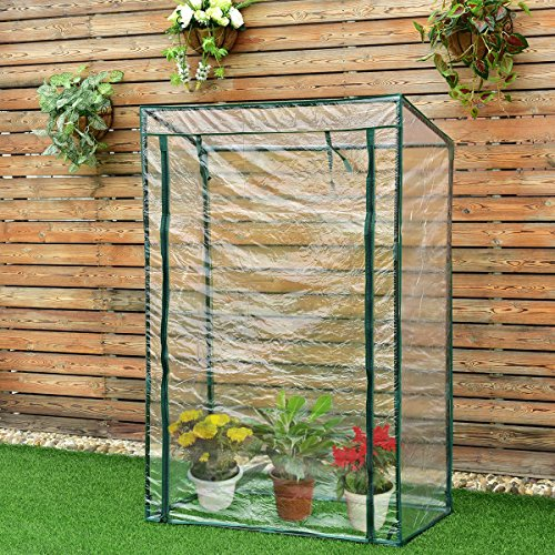 Imtinanz Modern Garden Greenhouse with PVC Cover