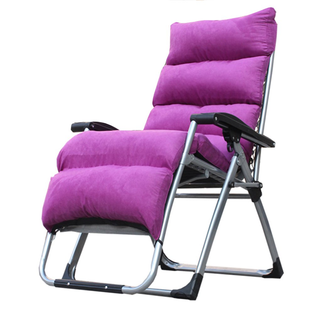 Klappstuhl Faltbare Liegestuhl/Falten Sun Liege/Liege Stuhl/Relax Stuhl/Multifunktions (10 Farben zur Auswahl) (Farbe : D)