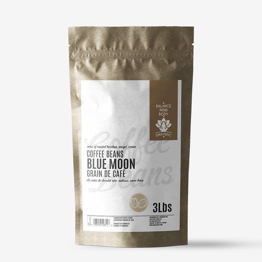Coffee Beans Blue Moon 3Lbs Dinavedic by Dinavedic