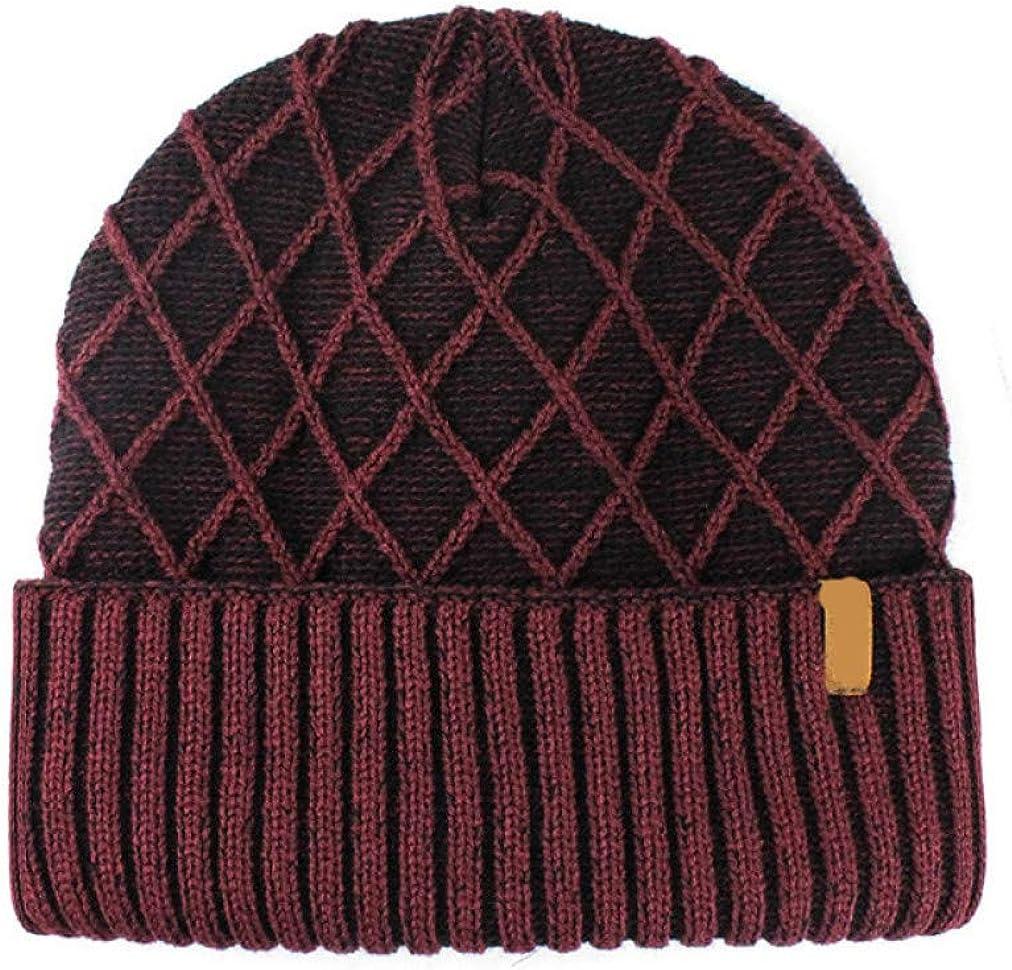 Comfortable Plaid Knitting...
