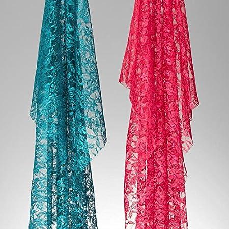Blume Meterware erh/ältlich ab 0,5 m Karnevalskost/ümen und Schalen Spitze zum N/ähen von Kleidern 150/cm breit Fabulous Fabrics Spitze apfelgr/ün