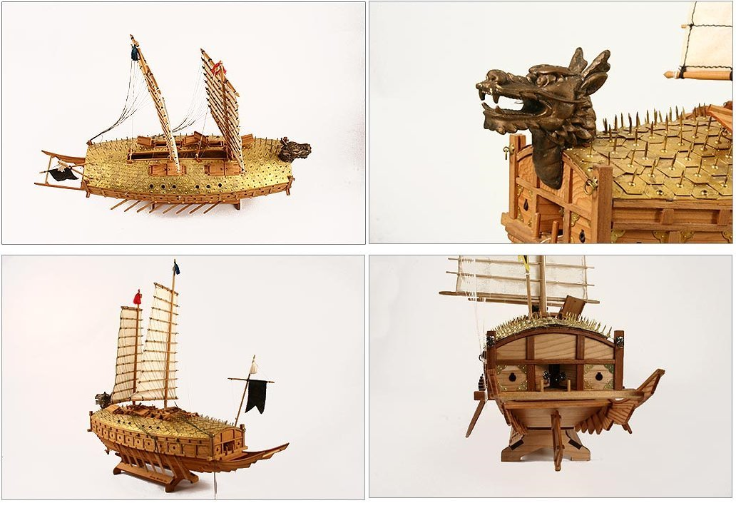 Amazon.com: [Madera Kit modelo] 1/65 escala tortuga Ship ...